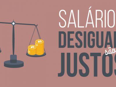 Salários desiguais são mais justos